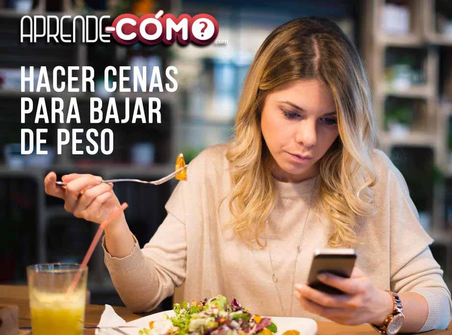 Ideas De Cenas Saludables Para Bajar De Peso